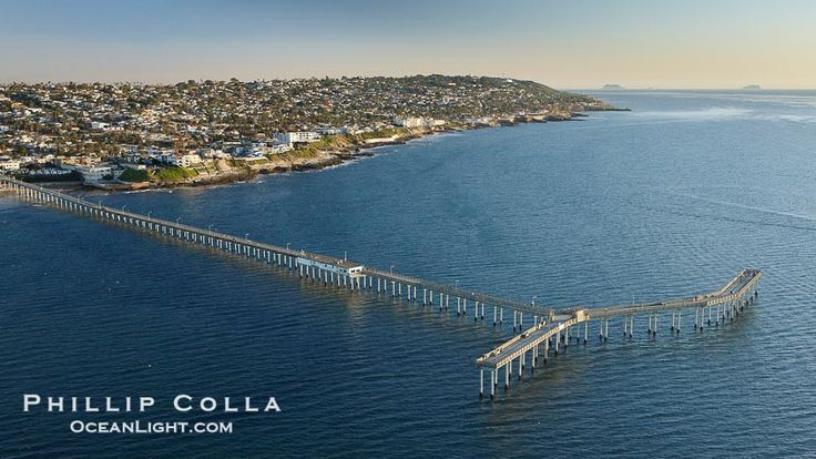 San Diego Beaches | Ocean Beach Pier Photo, Stock Photo of Ocean Beach Pier, Phillip Colla ...