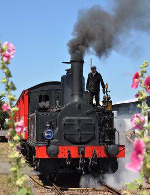 le Train des Mouettes à Saujon