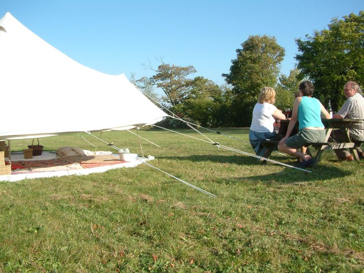 Letting the Outdoors Indoors!! Pukka 5M Zipped bell tent www.pukkatents.co.uk