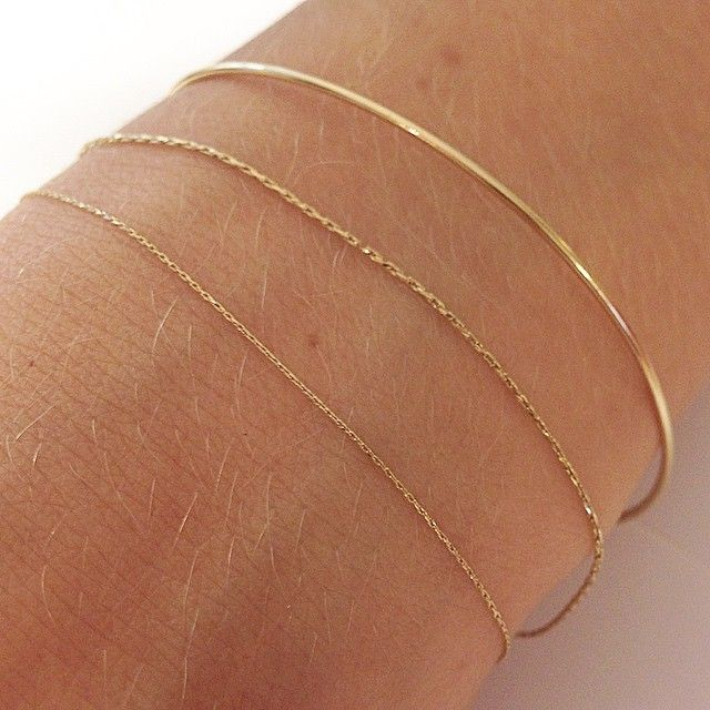 Pønt 18K Gold arm ring and silk cord bracelets selected by @moda_rama