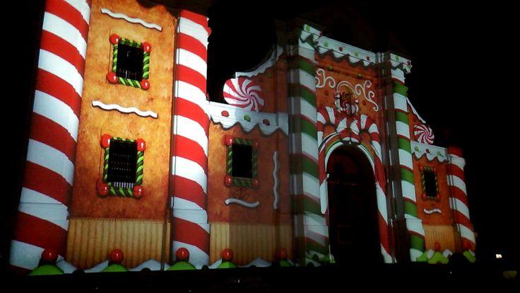 Vídeo mapping catedral de Santa marta
