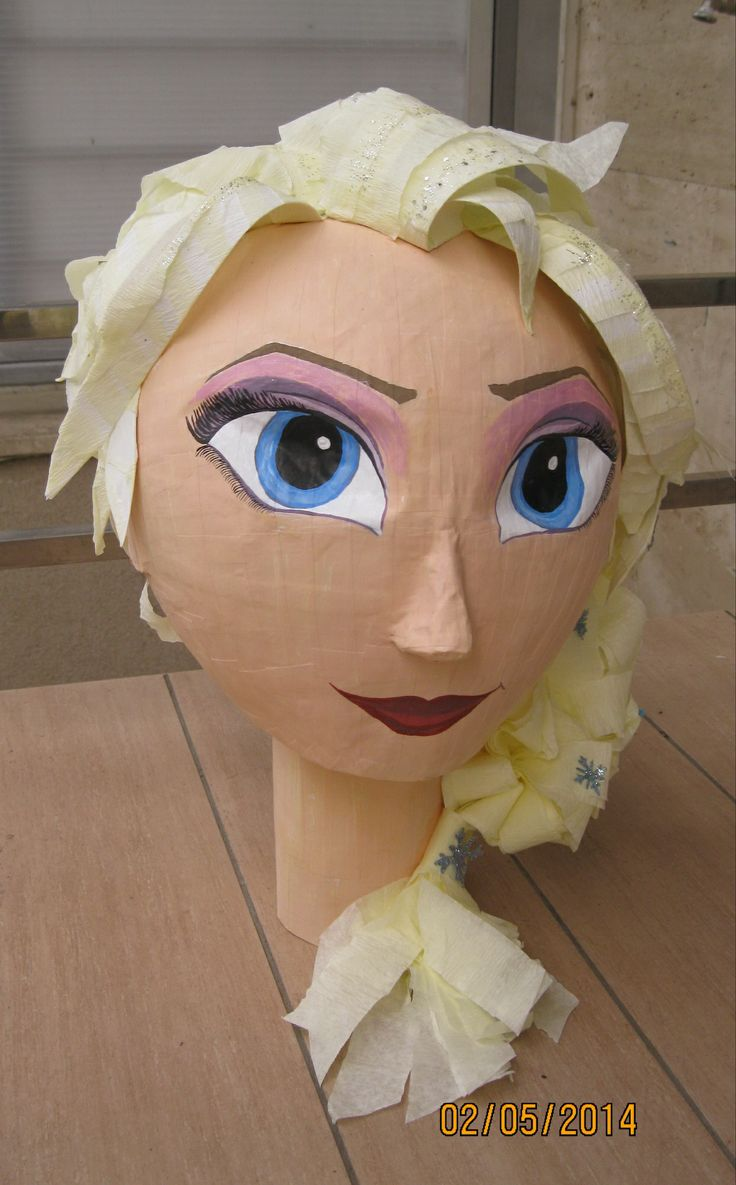 Frozen Pinata Elsa Frozen Pinata Frozen Birthday