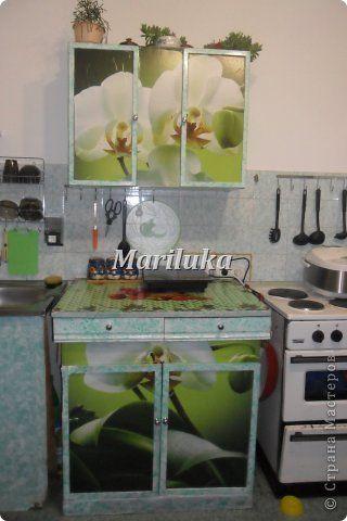 Декор предметов Декупаж Моя обновленная кухня  Бумага фото 1