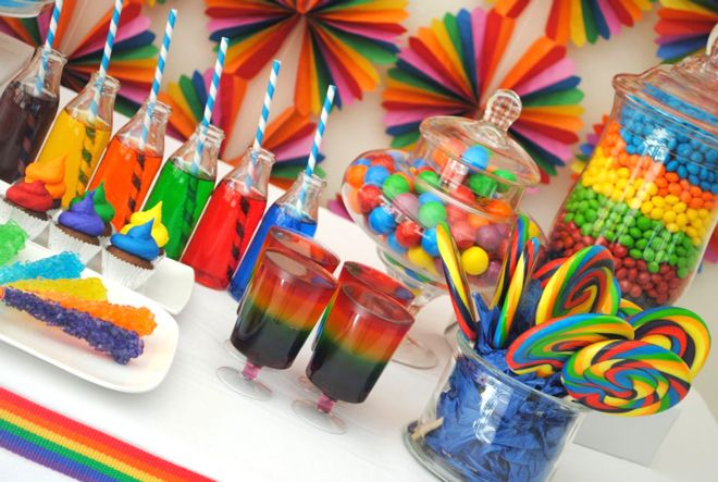 25 Rainbow food recipes for St Patricks