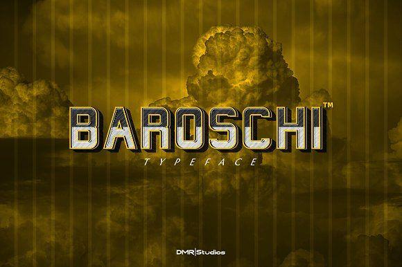 BAROSCHI by DMR ART STUDIOS on @creativemarket