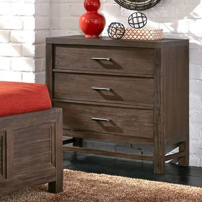 Home Styles Barnside 3 Drawer Chest