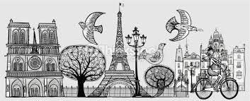 Resultado de imagen para paris dibujo
