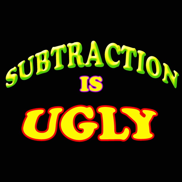 Don't let subtraction bully you!  Forget all the crazy borrowing and carrying?  There is a secret subtraction trick that the smart kids don't want you to know. This fast math trick will help make subtraction rules easy and fun!  This is a great subtraction method for students of all ages!