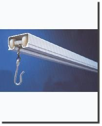 Cubicle Track Ceiling Mount