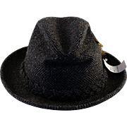 Vintage Stetson Fedora Hat