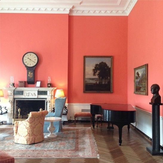 Ideas For Painting Walls Two Different Colors: 78 Best Ideas About Coral Walls On Pinterest