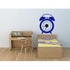 Bonitos relojes de vinilo que le darán un toque original a tus paredes, a la vez de realizar la función de reloj.