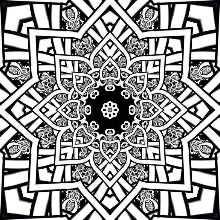 8 best coloring images on Pinterest   Celtic mandala, Coloring books ...