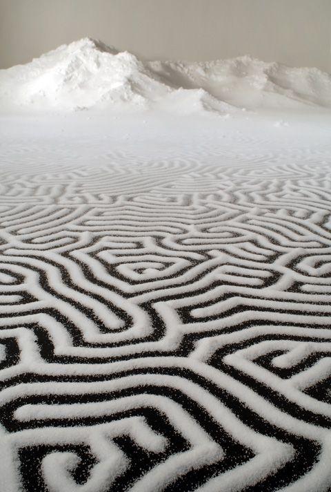 Motoi Yamamoto - Labyrinth - 2012 - détail