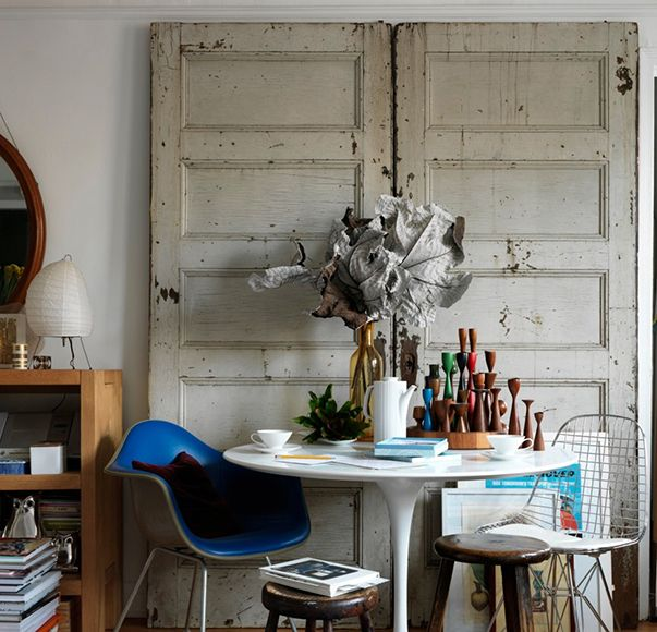 Маленькая студия австралийского стилиста в Нью-Йорке, 35 м² – Красивые квартиры