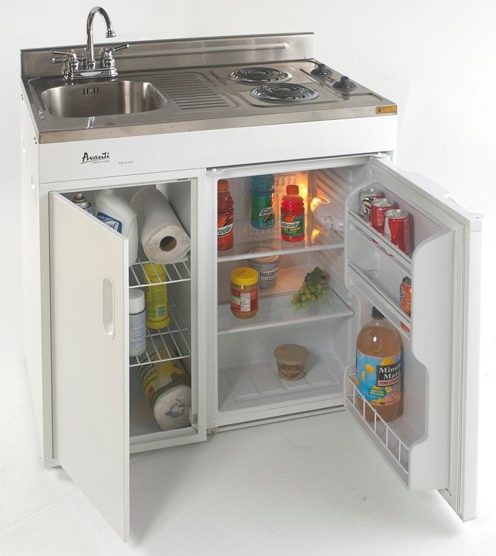 How To Make The Best Of Your Kitchenette: Avanti Compact, Unit, Kitchenettes