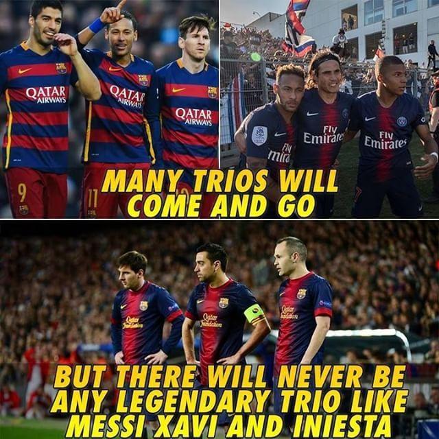 Messi Xavi Iniesta Iniesta Xavi Iniesta Messi