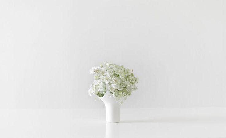 Vaso in ceramica HEIRLOOM 1 - Moustache