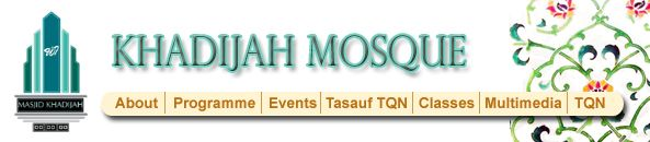 Welcome to Khadijah Mosque