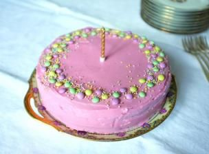 Recette Gâteau d'anniversaire à deux étages sans gluten - Feminin Bio