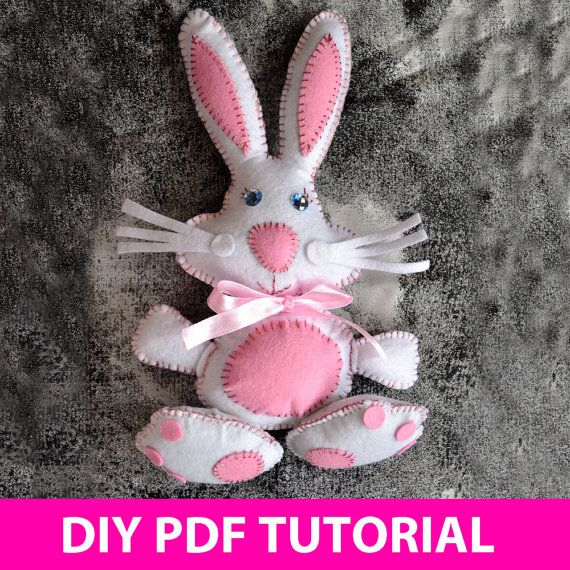 Easter Bunny PDF Tutorial INSTANT DOWNLOAD by vitbich on Etsy, $6.00