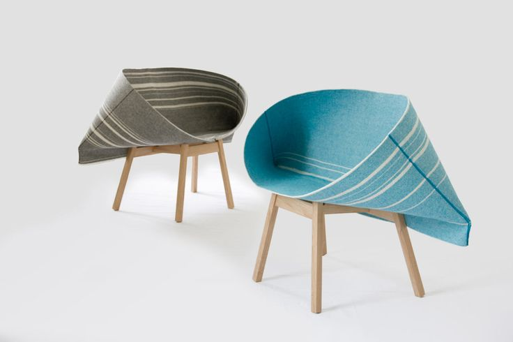 Kenny armchair by Yael Mer and Shay Alkalay of Raw Edges for Moroso
