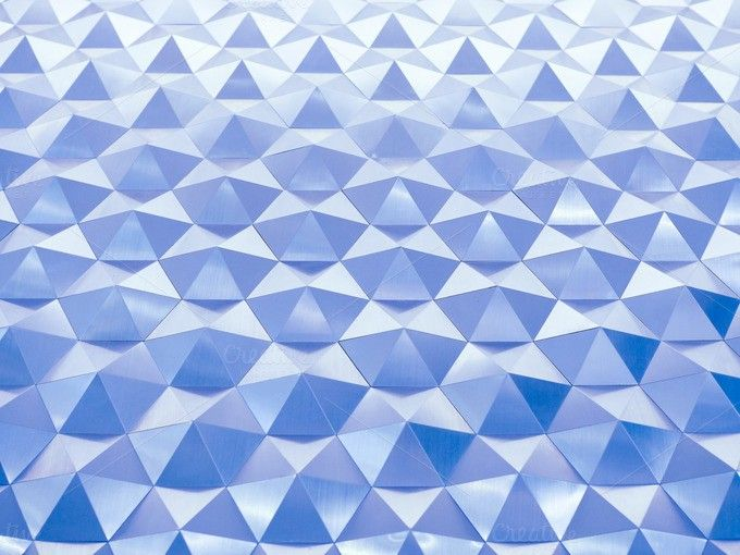 Blue low poly geometric abstract background in embossed triangular and polygon style. Poster Templates. $8.00