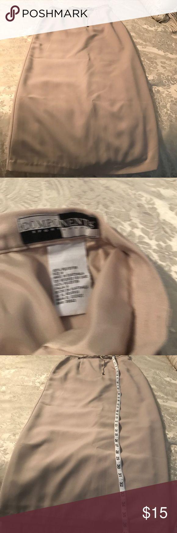 Components Sportswear skirt size 8 Cream maxi skirt size 8 Components Sportswear Skirts Maxi