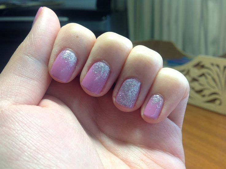 And more glitter degrade/gradient