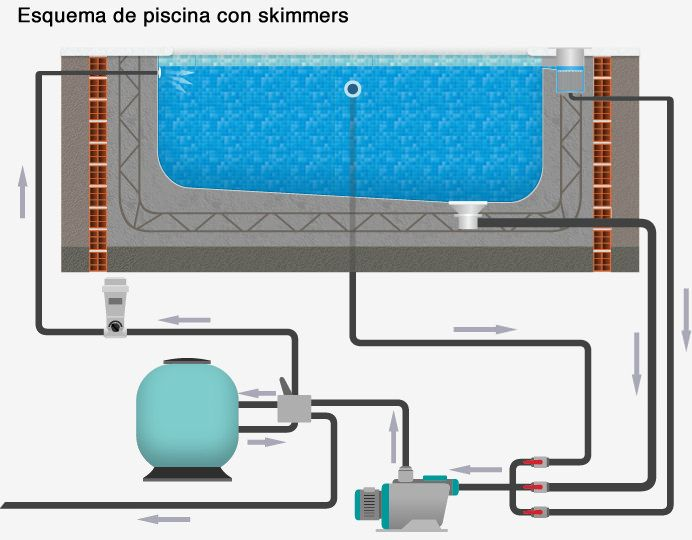43 best bio piscina images on pinterest gardens for Skimmer para piscinas