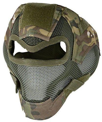 Maska ochronna Valken MI-7 woodland camo  Sprawdź cenę w sklepie Maska ochronna w specjalnych kamuflujących barwach jest na pewno doskonałym wyborem dla wszystkich tych, którzy celują w sprzęt najwyższej klasy, którzy pragną posiadać naprawdę doskonały sprzęt w trakcie rozgrywek paintballa. W tym