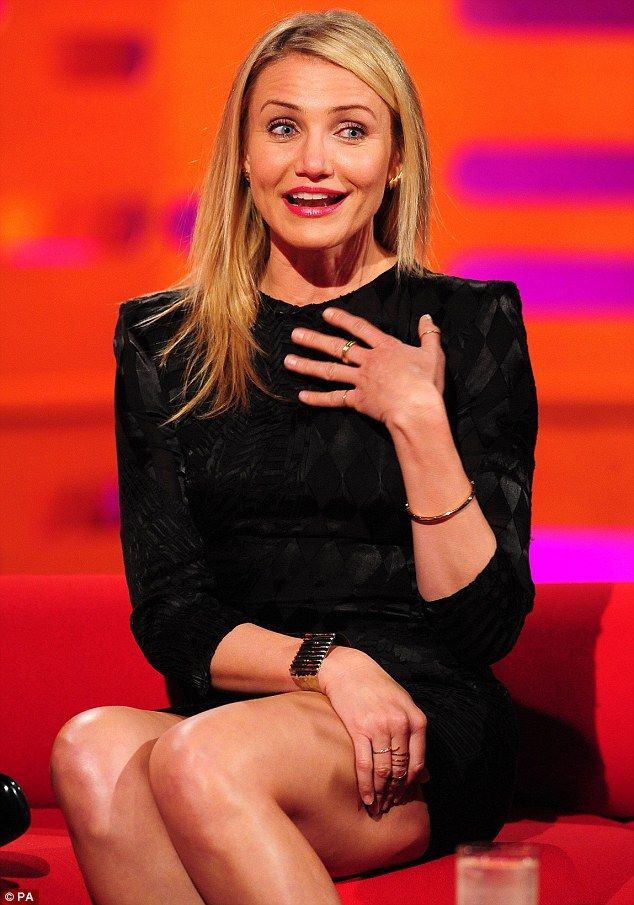 Cameron Diaz clears up her stance on pubic hair during Graham Norton Show appearance | Mail Online