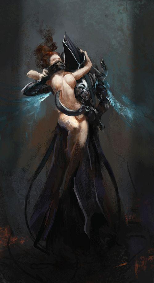 diablo III reaper of souls gif by alexnegrea