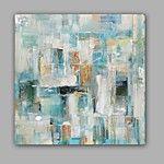 Handgeschilderde Abstract Horizontaal,Modern Eén paneel Canvas Hang-geschilderd olieverfschilderij For Huisdecoratie 2017 - €65.95