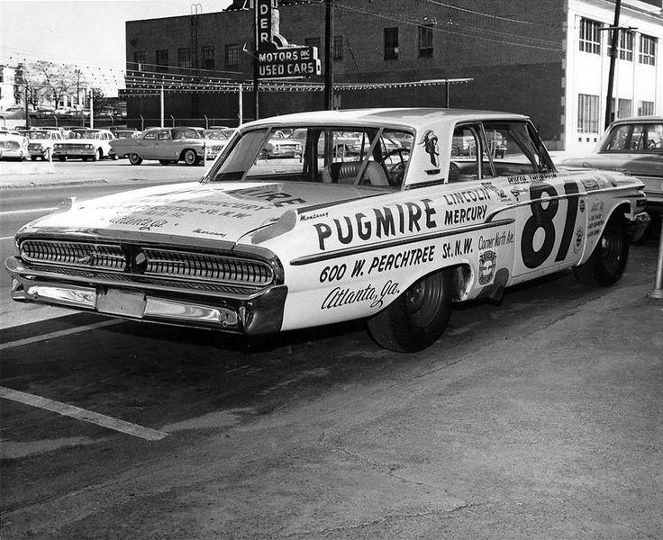 Jim Click Used Cars >> When NASCAR had door handles… 1962 Mercury stocker | Old ...
