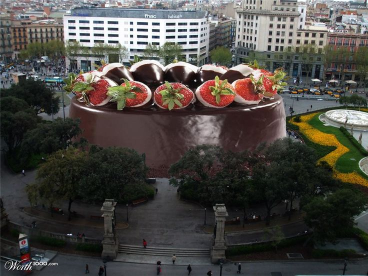 World's Biggest Cake   Advanced ' Photo Effects Contests