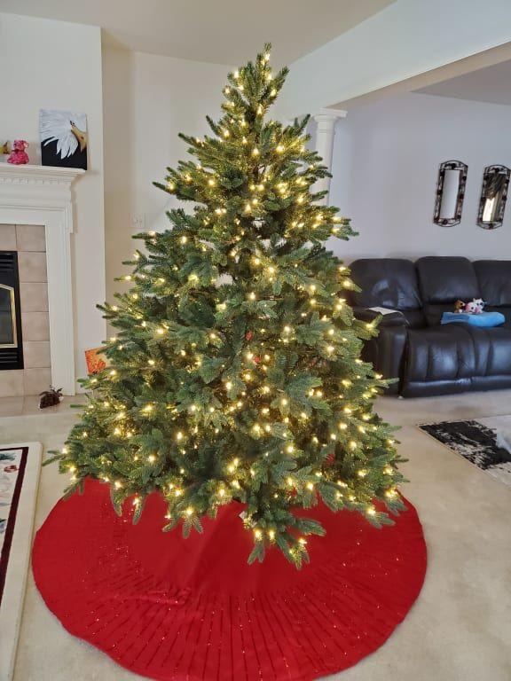 Durango Douglas Fir Wide Artificial Christmas Tree Balsam Hill In 2020 Balsam Hill Christmas Tree Christmas Tree Artificial Christmas Tree