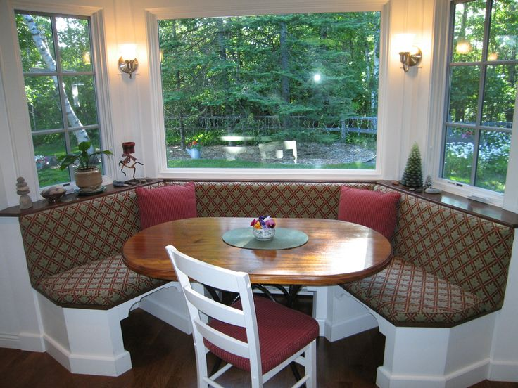 bay window kitchen table bench seat benches seating