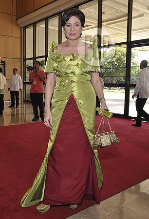 Long dress yang cantik in tagalog
