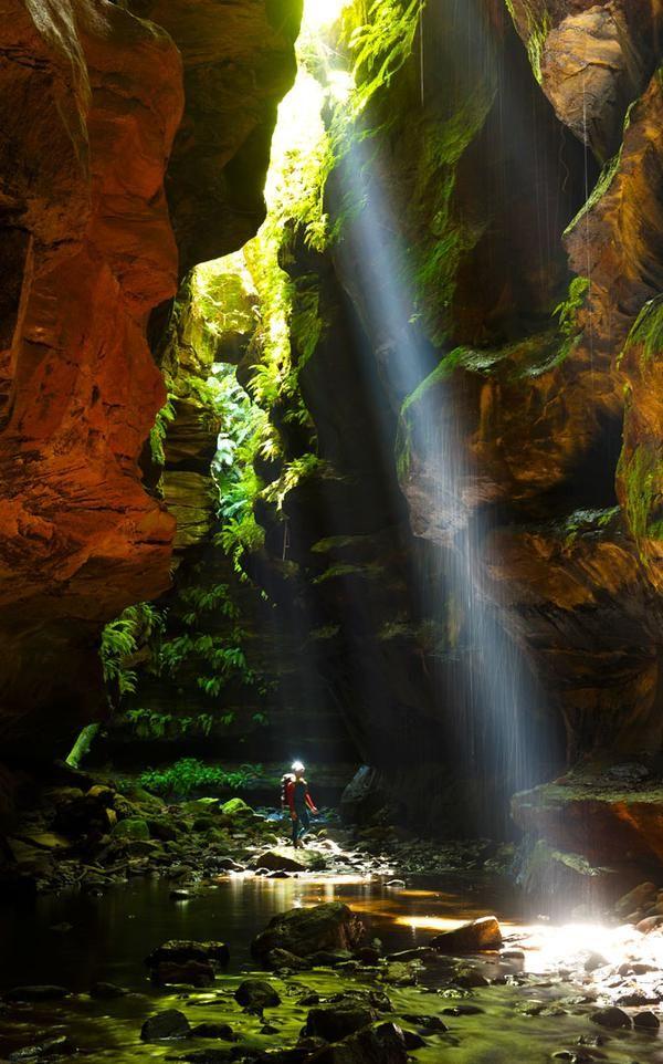 Australia's remote slot canyons