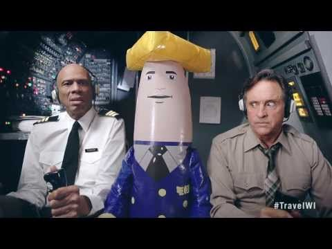 "Airplane! stars Kareem Abdul-Jabbar and Robert Hays got back together for this amazing ad for the Wisconsin tourism agency. | ""Airplane!"" Stars Reunite For Wisconsin Tourism Ad"