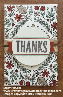 August 2016 Paper Pumpkin - Bold Botanicals; #stampinup; Craftastic Days with Stacy; adult coloring with Stampin' Up!