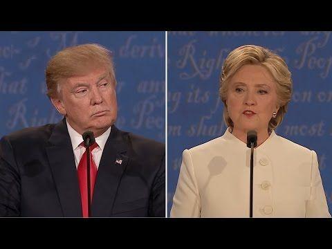 Donald Trump vs Hillary Clinton - Third Presidential Debate - UNLV - Las Vegas, NV - October 19, 2016