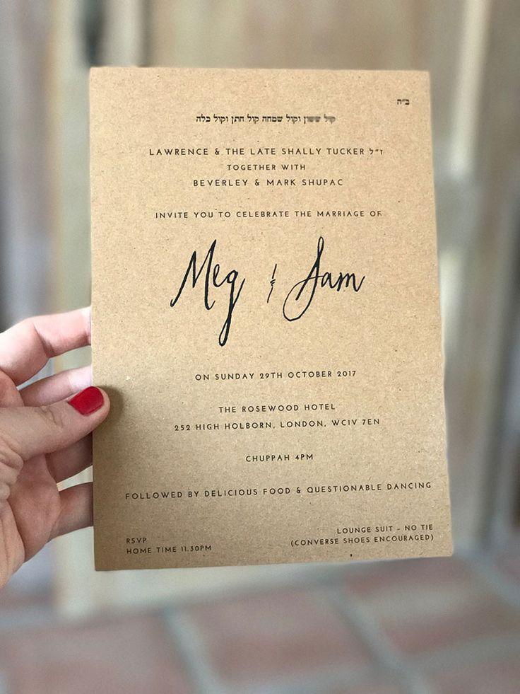 The 25 best Jewish wedding invitations ideas on Pinterest