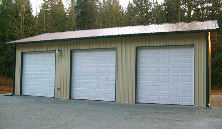 3 Car Garage In Stanwood Wa Built By Spane Buildings Of