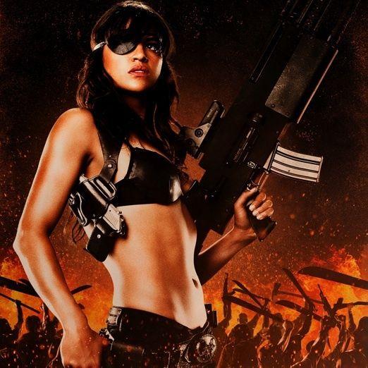 Michelle Rodriguez - Resident Evil (2002 - 2012)