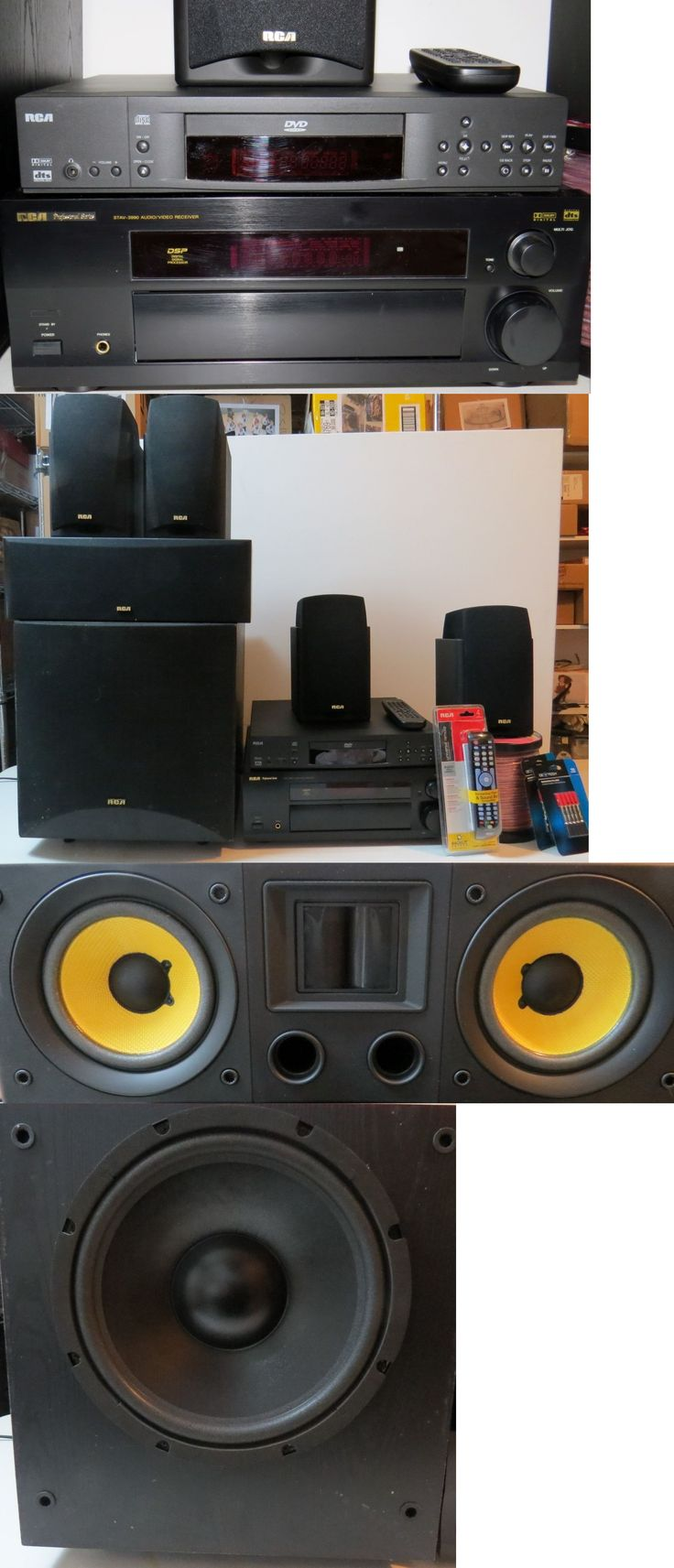 Home Theater Systems: Rca Professional Series 5.1 Home Theater System BUY IT NOW ONLY: $275.0