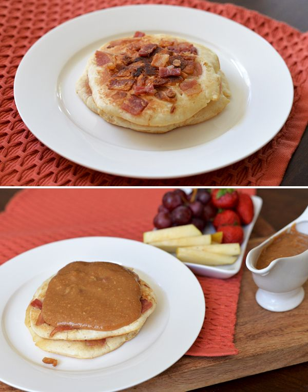 Find out how you can make a natural difference with Smucker's and check out this simple Peanut Butter & Maple Bacon Pancakes Recipe