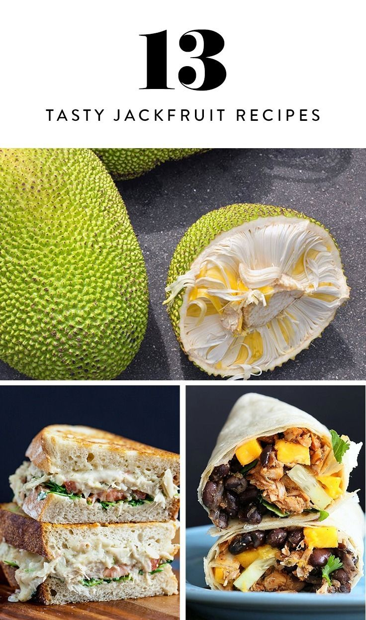 Discover 13 ways to cook Jackfruit, the glorious meat substitute that tastes just like pork.