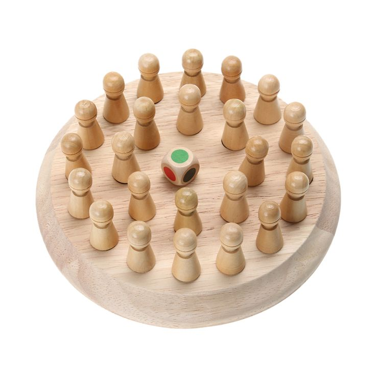 Bambini Di Legno Memory Match Bastone Gioco di Scacchi Per Bambini Presto Educational 3D Puzzle